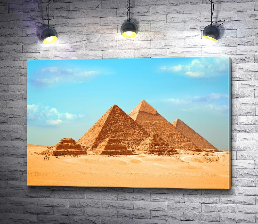 """Картина """"Древние пирамиды Гиза, Египет"""""""
