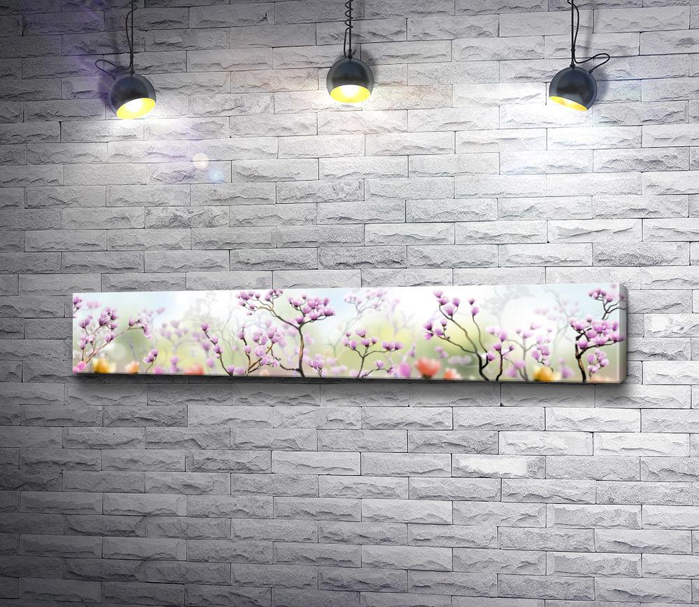 "Картина ""Весенние цветы"""