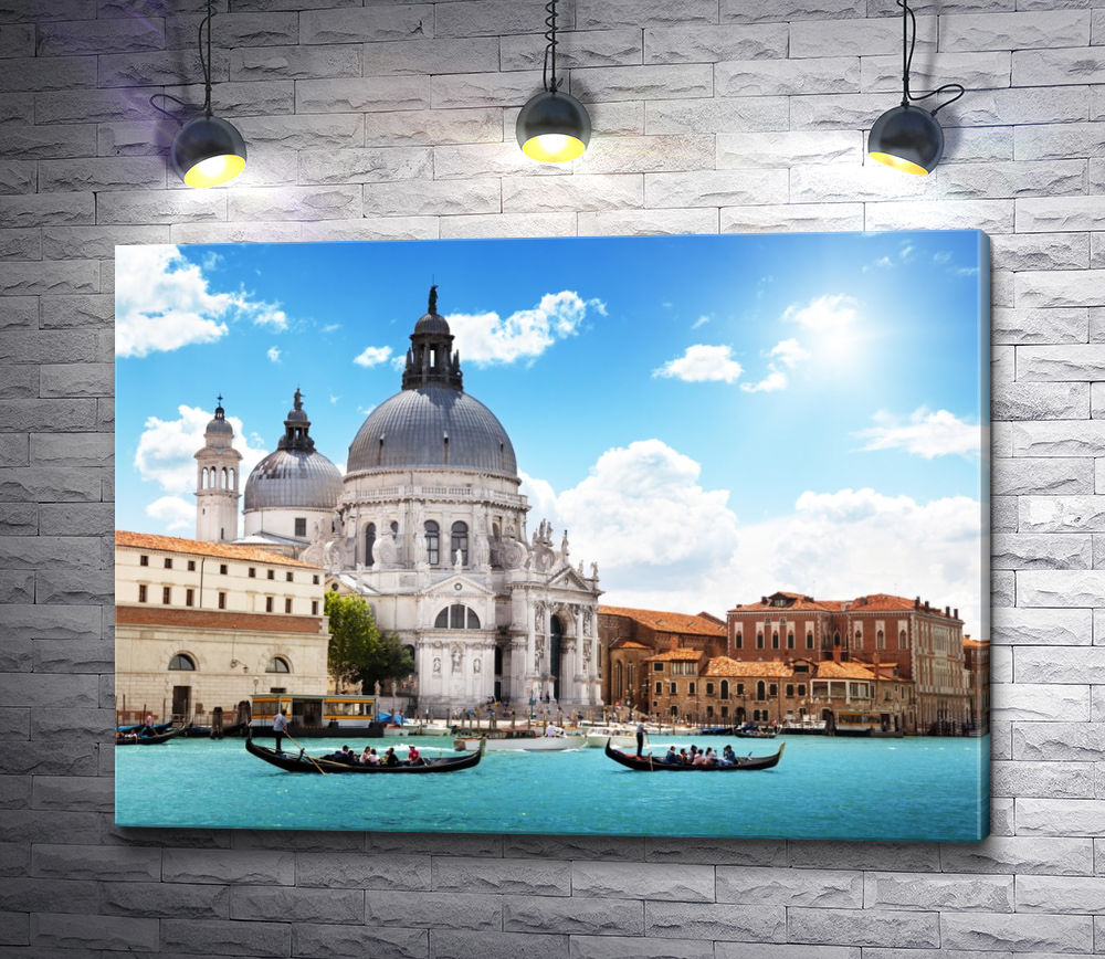 """Картина """"Собор Санта-Мария делла Салюте, Венеция"""""""