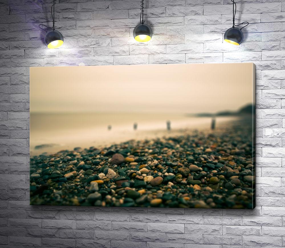 """Картина """"Каменистый пляж"""""""